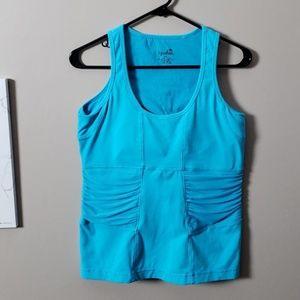 Kyodan turquoise activewear tank